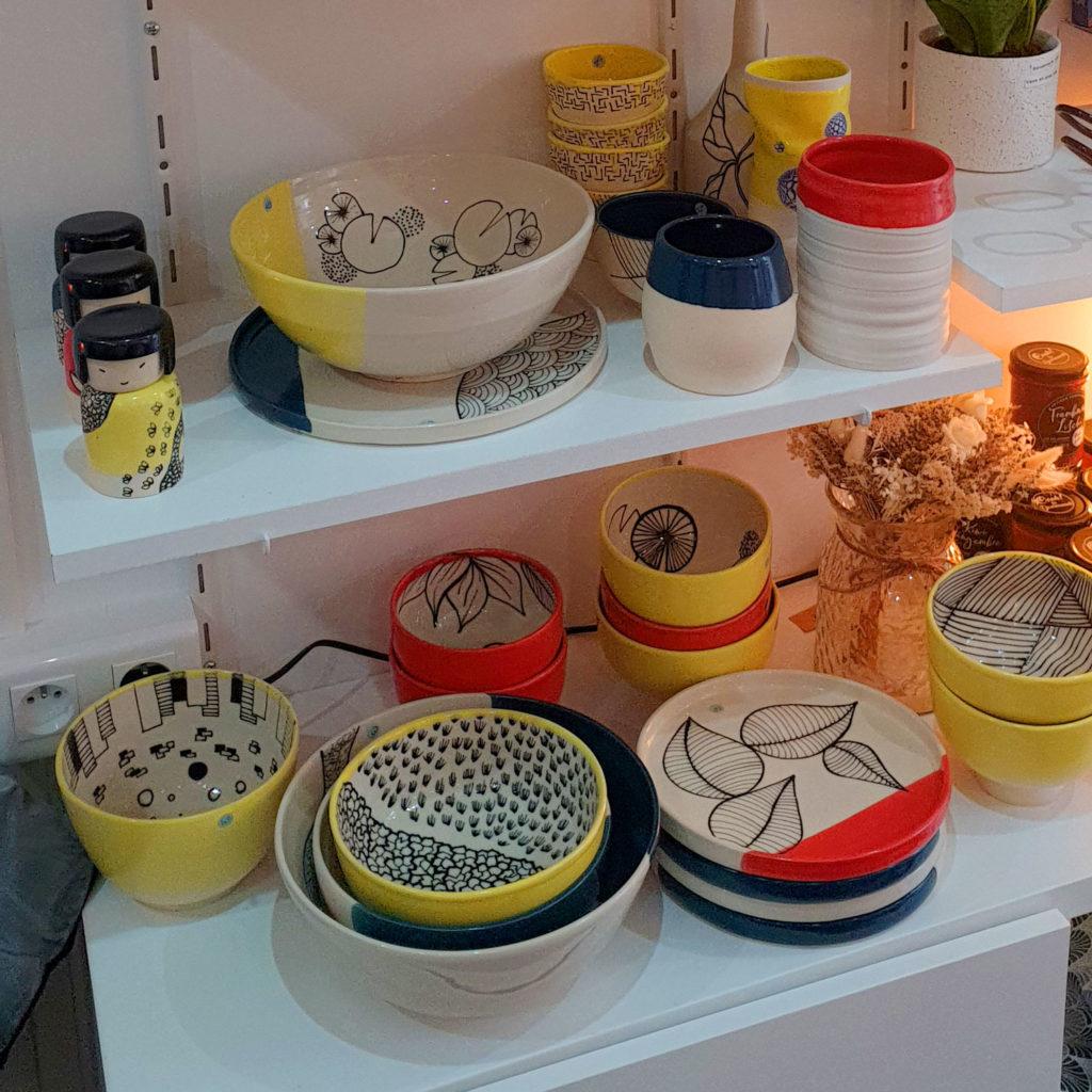 Etagère JG Ceramic Néologie Poissy