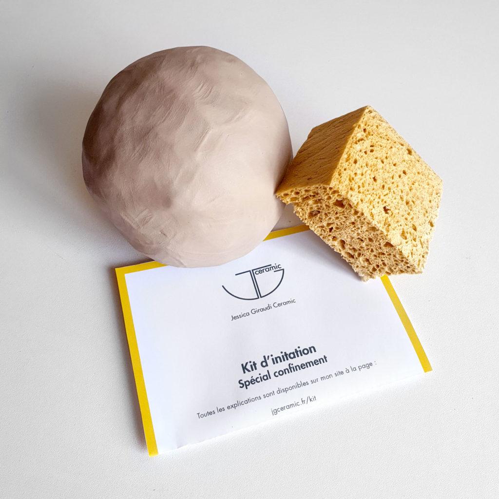 Kit d'initiation à la poterie