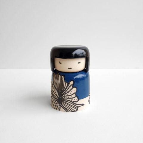 kokeshi ceramique créativité