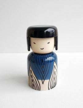 kokeshi ceramique bonheur